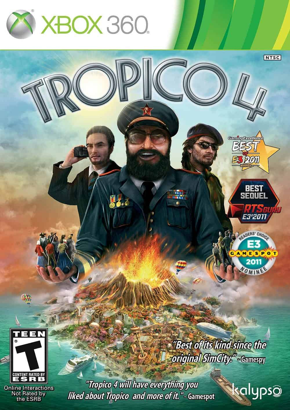 Game Review: Tropico 4 (Xbox 360)