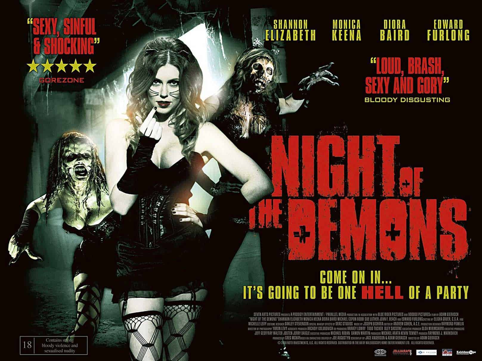 Horror Movie Review: Night of the Demons – Remake (2009)