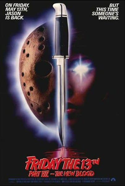 Horror Movie Review: Friday the 13th – Part VII: The New Blood (1988)