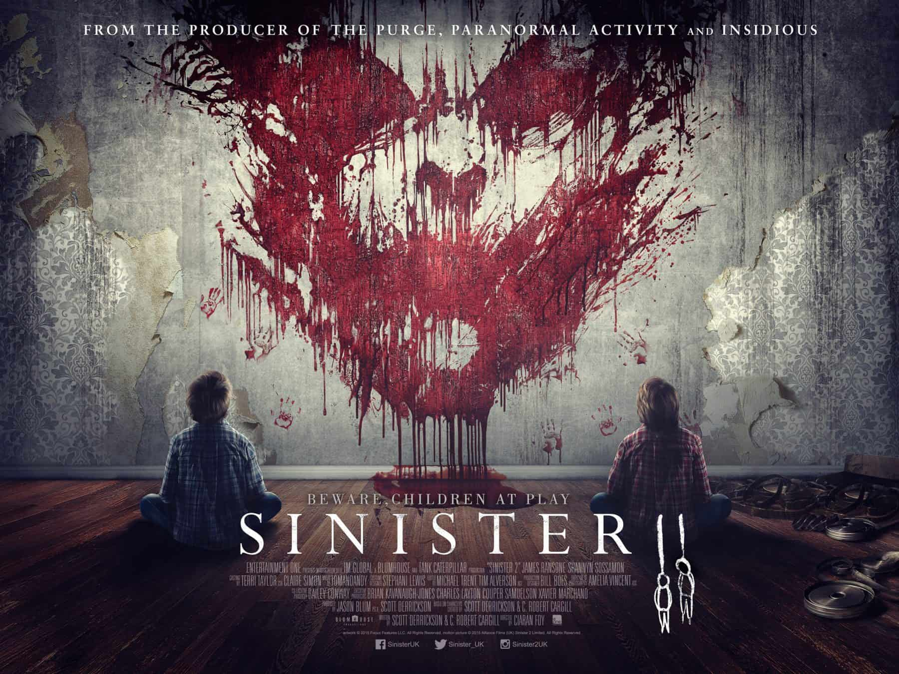 Horror Movie Review: Sinister II (2015)