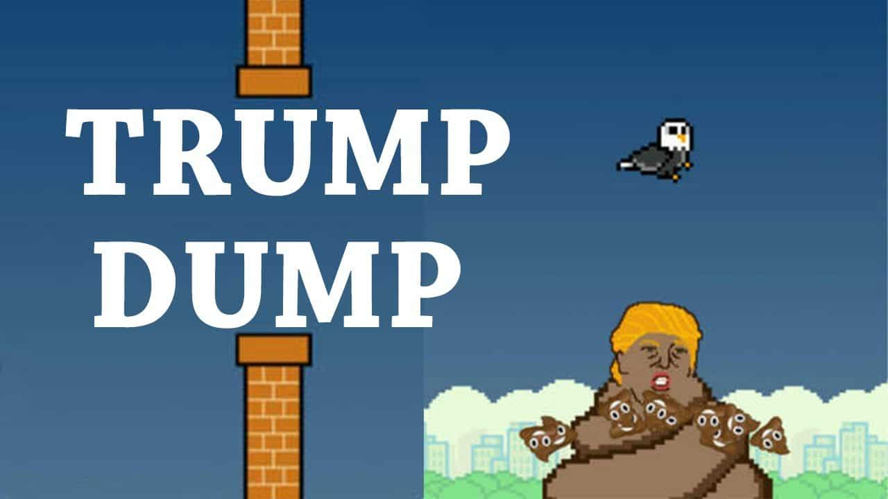 Game Review: Trump Dump (Mobile – Free to Play)