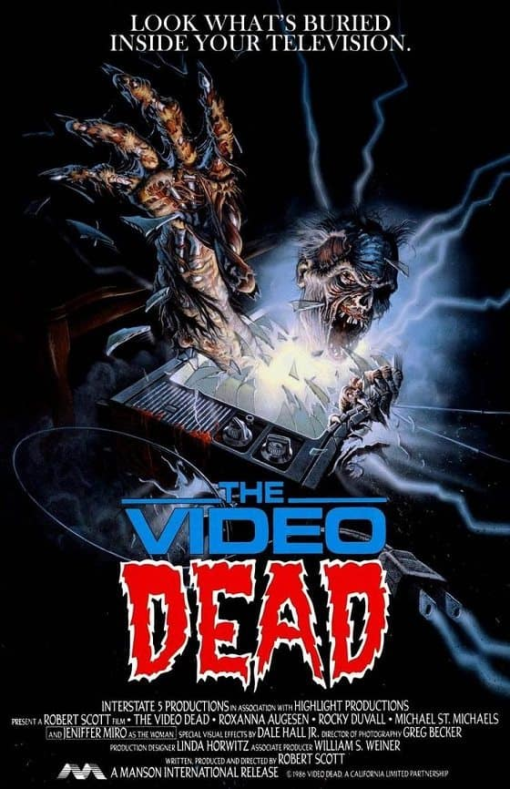 Horror Movie Review: The Video Dead (1987)