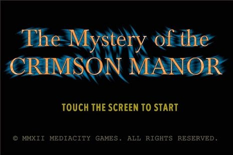 Game Review: The Mystery of the Crimson Manor (Mobile)