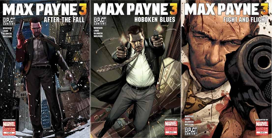 Comic Book Review: Max Payne 3 (Rockstar Games)