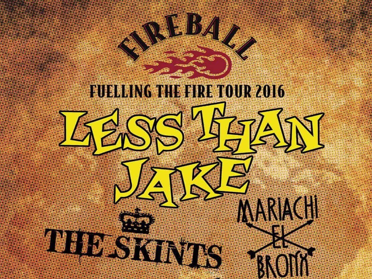 Live Review: Less than Jake (and more) at Brixton Academy – Fireball – Fuelling the Fire Tour 2016