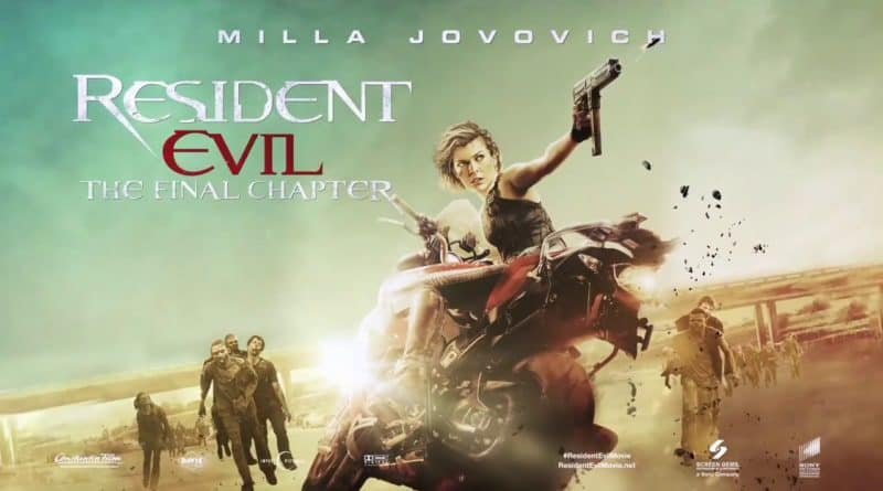 Game Movie Review: Resident Evil: The Final Chapter (2016) - Games