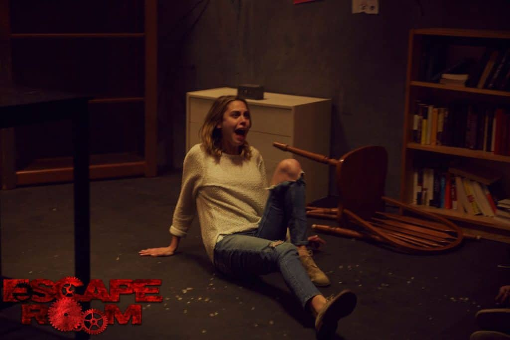 Horror Movie Review Escape Room 2017 Games Brrraaains A Head