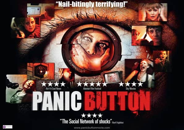 horror movie review panic button 2017 games