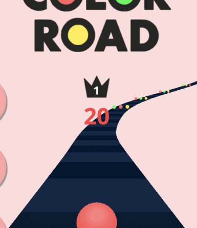 Game Review: Color Road (Mobile - Free to Play) - Games, Brrraaains ...