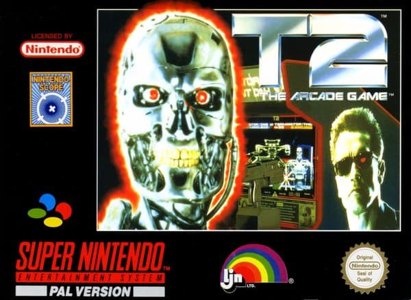 Game Review: T2: The Arcade Game (SNES – Video) - Games