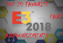 Top 20: Favorite Announcements From E3 2018 (Part 1)