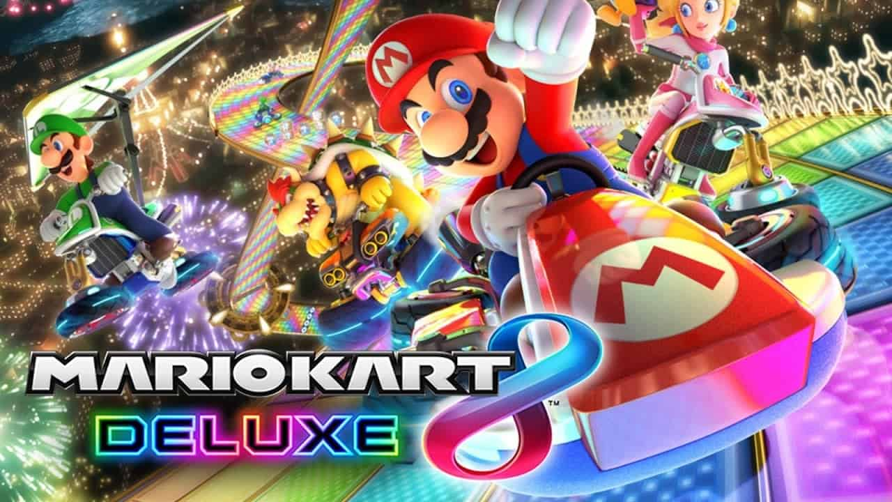 Game Review Mario Kart 8 Deluxe Nintendo Switch Games