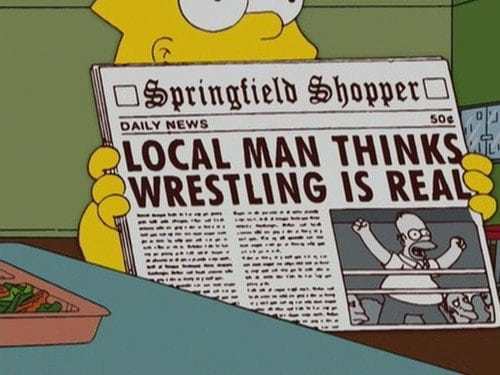 Simpsons Wrestling 1