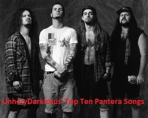 Top Ten Pantera