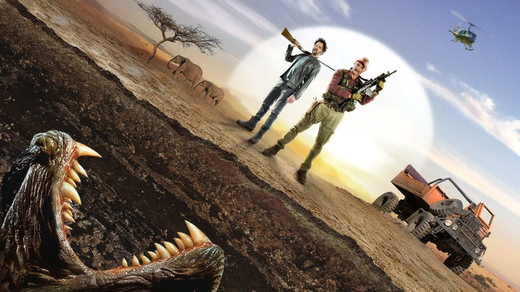 Horror Movie Review Tremors 5 Bloodlines 2015 Games