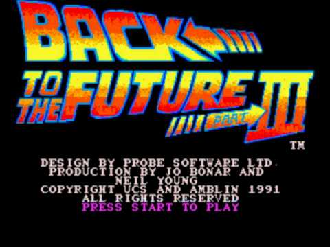 Game Review: Back to the Future: Part III (Mega Drive/Genesis