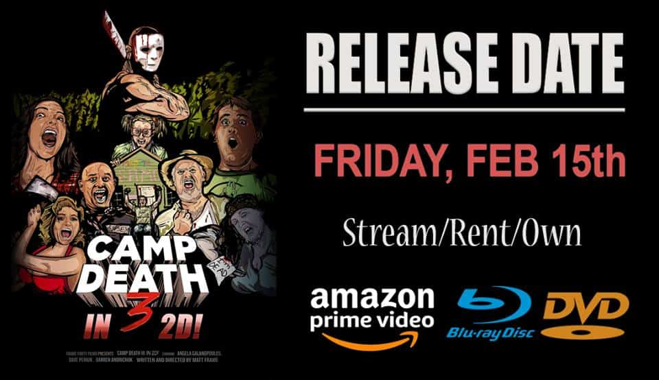 News: Camp Death III in 2D! Director to Watch Moronic Movie