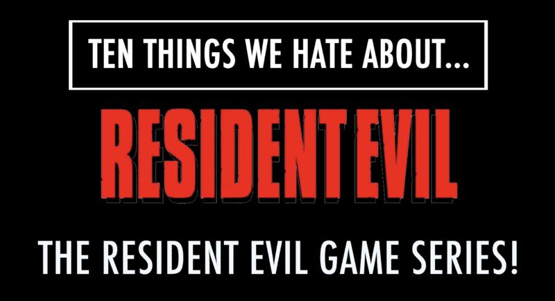Hate Resident Evil 1